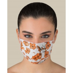 KIT 2 Protective washable masks for Adult made of TNT and Natural cotton
