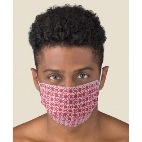 Pareja Máscaras Adulto Lavables en TNT y ALGODÓN