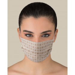 KIT 2 pcs Protective washable masks for Adult made of TNT and Natural cotton