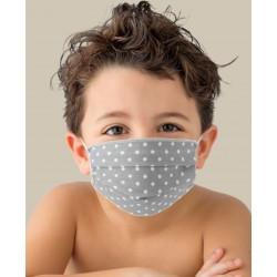 KIT 2 Máscaras por Niños Lavables en TNT y ALGODÓN
